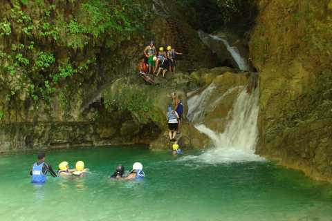 Puerto Plata: Damajagua Waterfalls with Buggy or Horse Ride