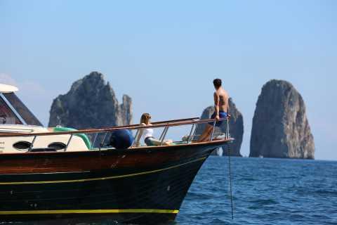 From Amalfi: Sorrento Coast and Capri Full-Day Boat Cruise