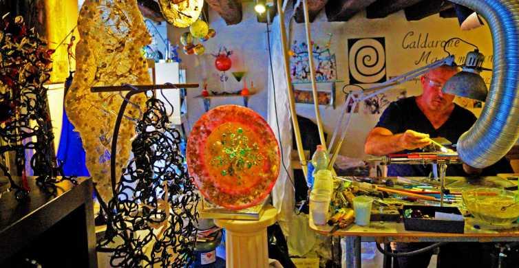 Venise: leçon privée de verrerie avec un artisan local