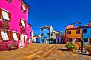 Venedig: Panoramaschifffahrt nach Murano und Burano