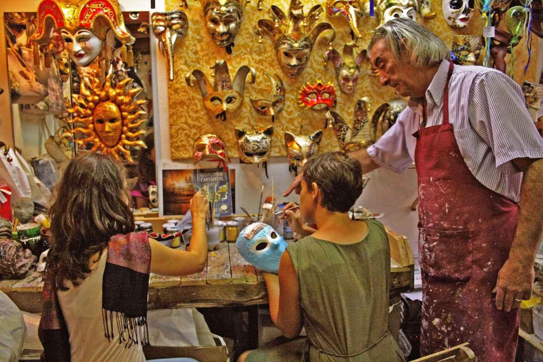 Venedig: Workshop – Kreieren Sie Ihre eigene Karnevalsmaske