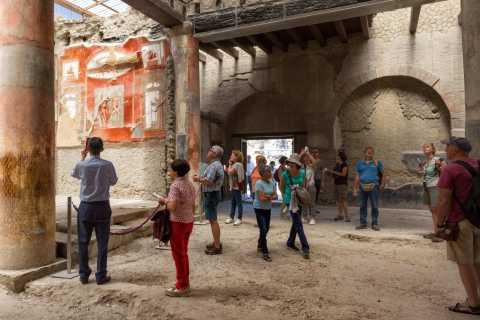 Naples: Herculaneum Skip-the-Line Tour with Archaeologist