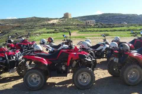 Gozo: balade en quad d'une demi-journée
