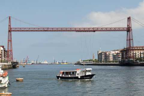 Bilbao: Hop-on Hop-off Boat Trip