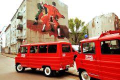 Varsóvia: Behind the Scenes City Tour de Retro Minibus