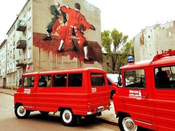 Warschau: Insider-Stadtrundfahrt im Retro-Minibus