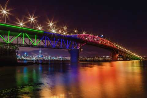 Magical Auckland by Night