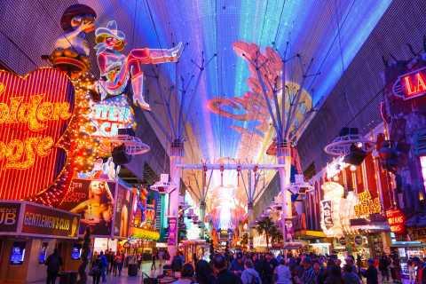 Las Vegas: Private Group Night Tour in German