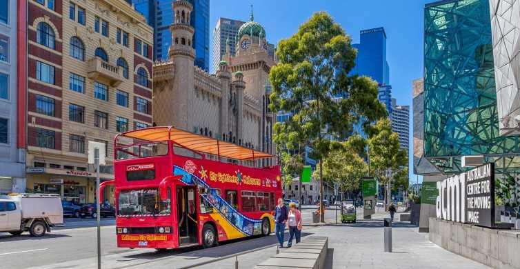Melbourne Hop On Hop Off Bus Tour + River Cruise