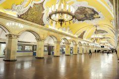 Excursão Particular pelo Metrô de Moscou com Busca no Hotel