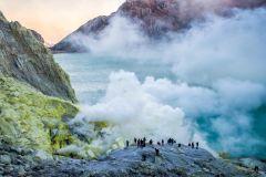 De Bali: Viagem de 24 horas à Cratera Ijen e Café da Manhã Javanês
