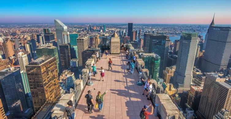 NYC: entrada fecha flexible al mirador del Top of the Rock