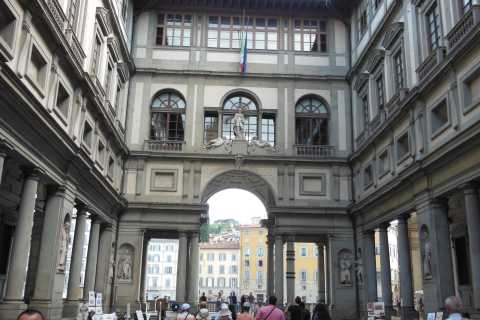 Uffizi en Accademia: onafhankelijk bezoek met audioguide