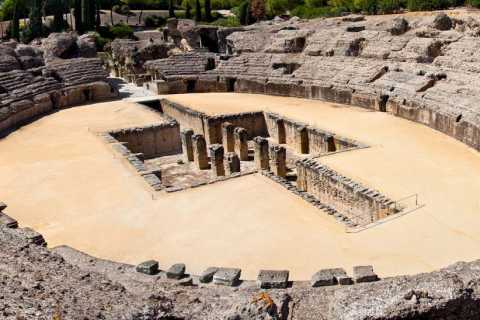 Italica Roman City Tour and 14th Century Medieval Monastery