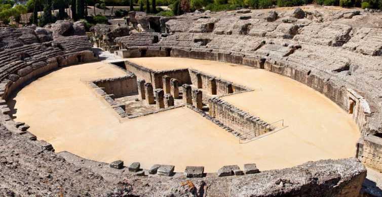 Italica Roman City Tour and 14th Century Medieval Monastery