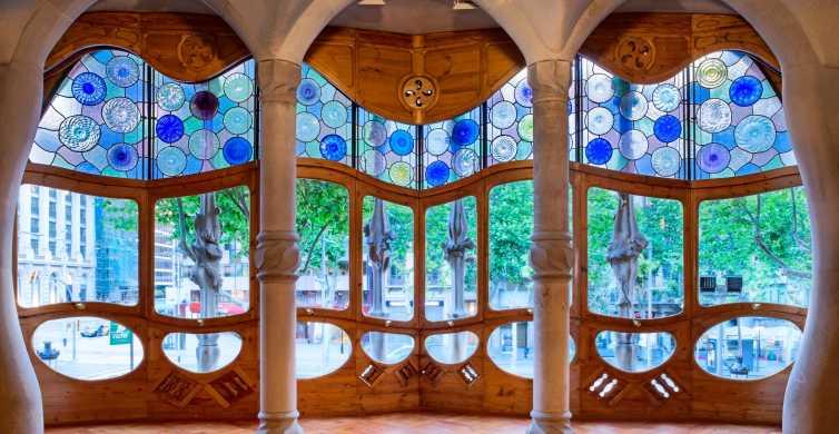 Casa Batlló, Casa Milà, Sagrada Familia, and Park Güell Tour