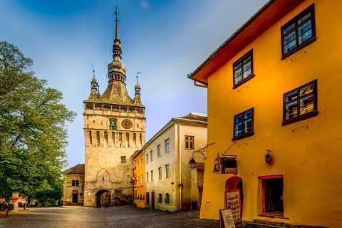 Desde Bucarest: tour de 2 días por Transilvania medieval