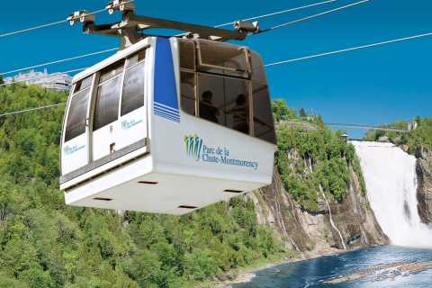 Quebec City: Montmorency Falls with Cable Car Ride