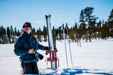 Rovaniemi: Backcountry Skiing and Photography Adventure
