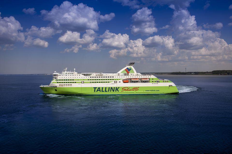 Bilet w obie strony na prom do Tallinna