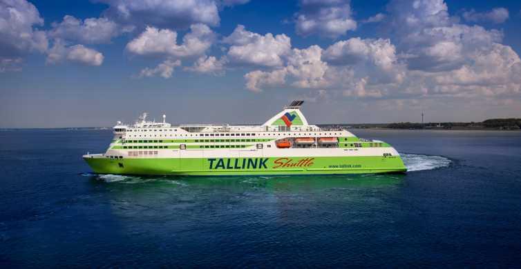 Helsinque: Bilhete de Barca de Ida e Volta para Tallinn