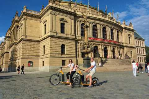 Prague: 2-Hour Private Combo Tour by Segway and eScooter