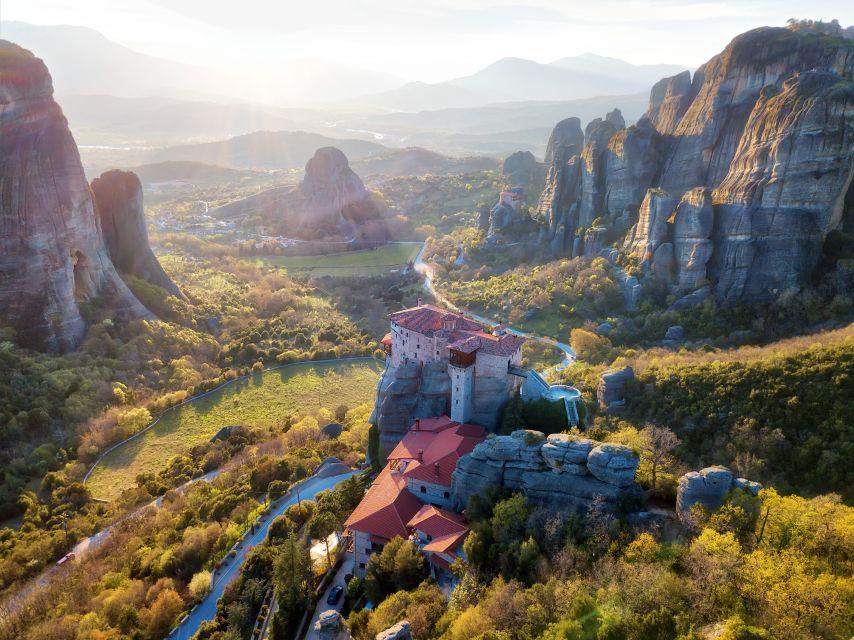 Метеоры: индивидуальная поездка на целый день из Афин или Пирея