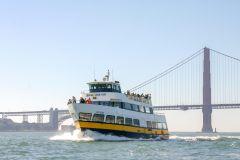 São Francisco: Cruzeiro de 1 hora pela baía de barco