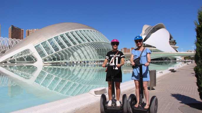 Valencia: Grand City Private Segway Tour