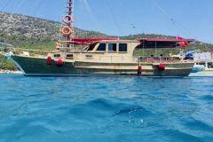 Excursão de barco particular na Península de Bodrum com almoço