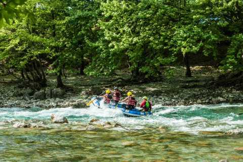Epiro: Fácil experiencia de rafting en el río Voidomatis