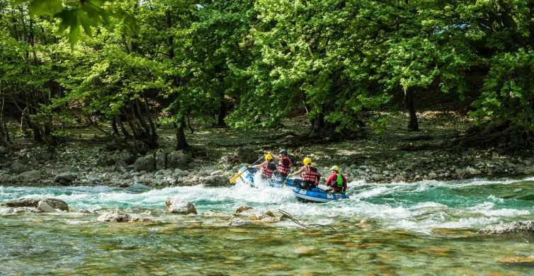 Epirus: Einfaches Rafting-Erlebnis auf dem Voidomatis-Fluss