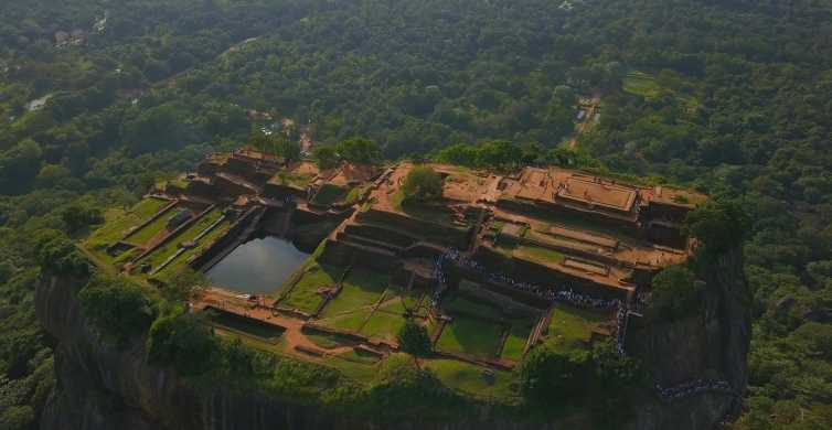 From Colombo: All Inclusive Sigiriya and Dambulla Tour