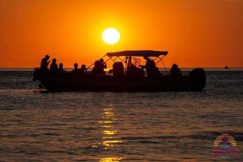 Ibiza: snorkelen, zonsondergang en grottentocht per boot