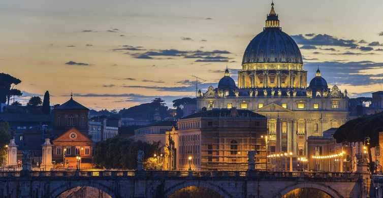 Rom: Vatikan bei Nacht Exklusive Kleingruppentour