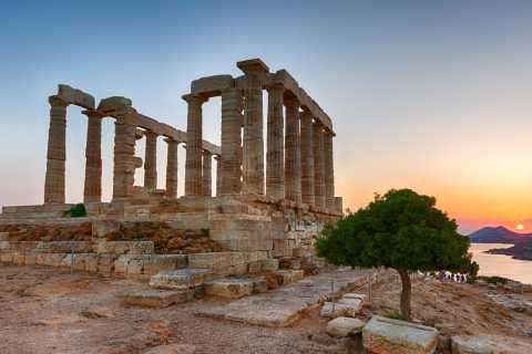 Athens: Temple of Poseidon and Cape Sounion Sunset Tour