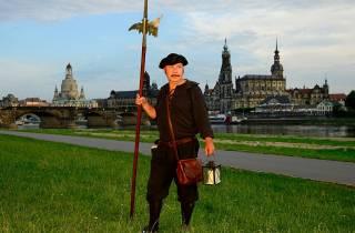 Dresden: Barockviertel-Tour mit einem Nachtwächter