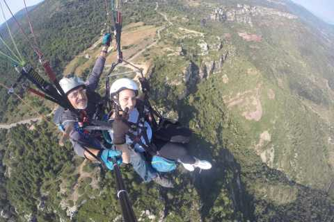 Tarragona: Paraglide Over the Mussara Mountains