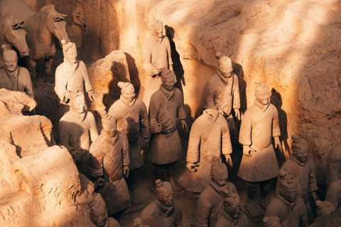 Xi'an Terracotta Warriors Walking Tour with Transfer Options