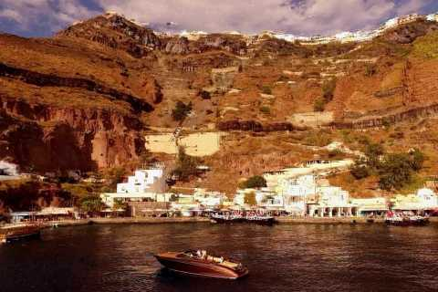 Santorini: Luxurious Private Cruise on a Motor Yacht