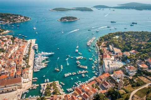 Von Trogir/ Split: Hvar & Pakleni-Inseln Privatbootsausflug