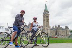 Ottawa: Aluguel de bicicleta de 4 ou 8 horas com passeio sem guia