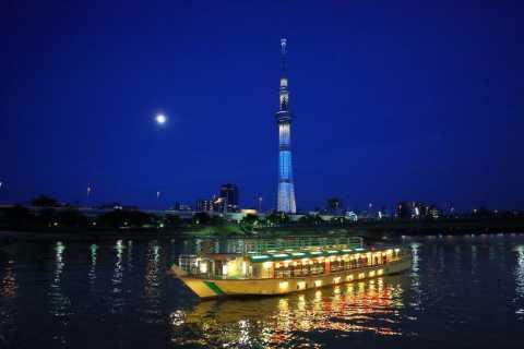 Tokyo Bay: Traditional Japanese Yakatabune Dinner Cruise