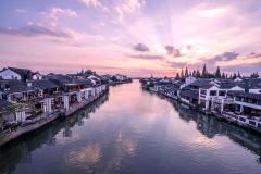 Xangai Seven Treasure Town e Zhujiajiao Water Town Tour