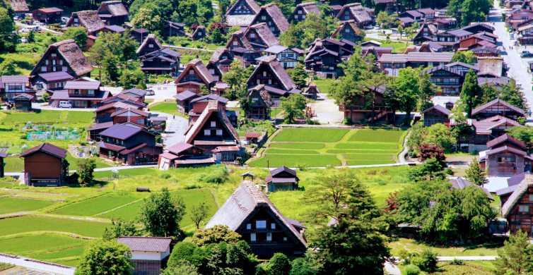 Kanazawa to Shirakawago: Half-Day Tour