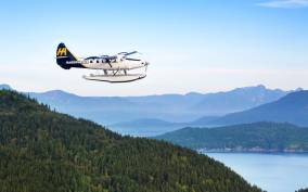 Victoria: Butchart Gardens Seaplane Flight & 3-Course Dinner