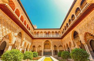 Alcázar von Sevilla: Palastführung mit Vorzugseinlass