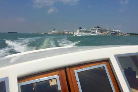 Venice: Private Boat Transfer from Cruise Terminal to Hotel