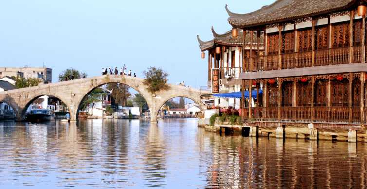Shanghai: Zhujiajiao UNESCO Water Town Afternoon Tour
