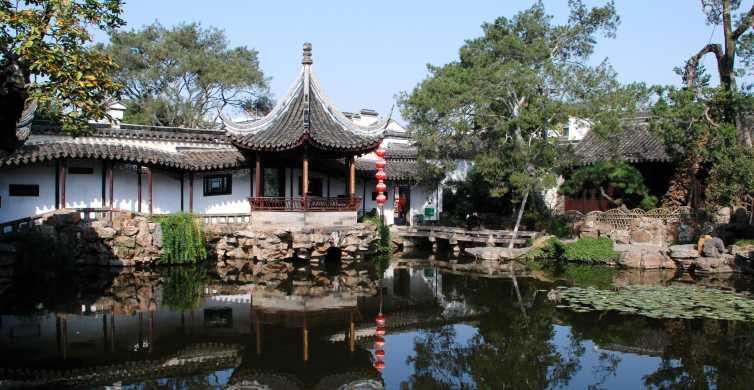 From Shanghai: Suzhou & Zhouzhuang Water Town with Boat Ride